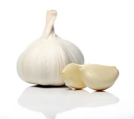 Close up of Fresh garlic