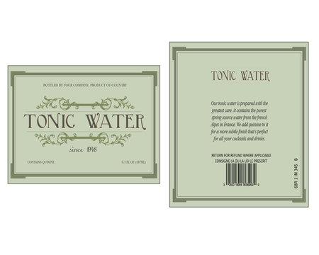 40's tonic water
