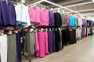 Sport clothing retailer.