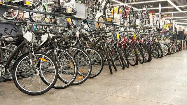 Bike shop.