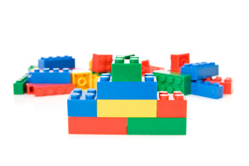 colorful plastic toys
