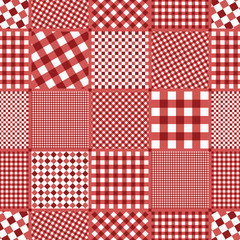 checked pattern seamless background