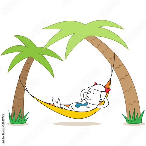 free clipart hammock cartoon - photo #17