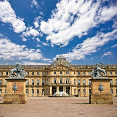 The New Palace, in Stuttgart ,Germany