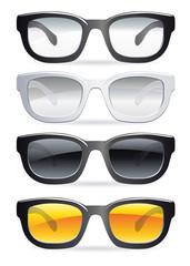 lunettes de vue et de soleil