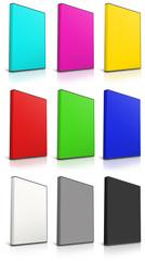 RGB and CMYK DVD Case