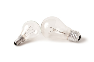 Two electric bulb lamp