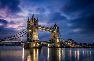 Poster - Tower Bridge Londres Angleterre