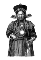 Trad. Woman - Asia