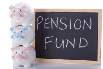 Pensions And Savings Concept
