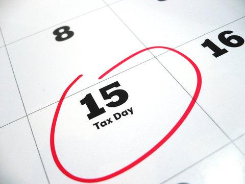 Tax Day April 15