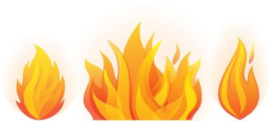 set of fire flames esp10