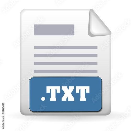 """Folder Icon - .TXT"" Stock photo and royalty-free images ..."