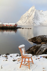 Hamnøy's winter chair