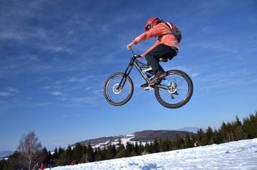 saut vélo