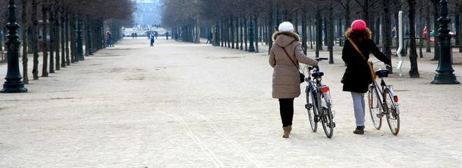Promenade à vélo dans Paris