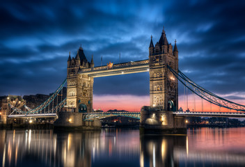 Foto op Canvas London Tower Bridge Londres Angleterre