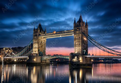 Wall mural Tower Bridge Londres Angleterre