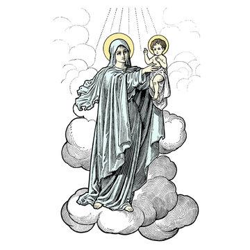 La Vierge & L'Enfant Jésus
