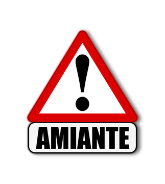 Attention danger amiante