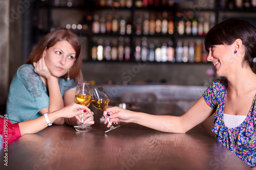 Girlfriend Trying To Cheer Up Stock Photo And Royalty Free Images