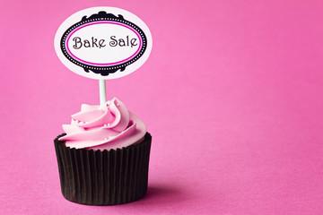 Wall Mural - Bake sale cupcake