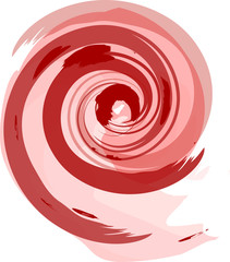 Foto op Aluminium Spiraal spirale