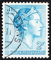 Postage stamp Luxembourg 1961 Charlotte, Grand Duchess of Luxemb