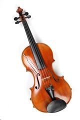 Geige mit Stimmgabel