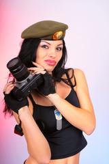 army girl photographer