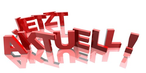 3D Buchstaben - JETZT AKTUELL