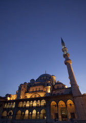 The New Mosque in Istanbul