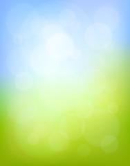 Light spring background