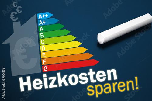 Tafel Mit Heizkosten Sparen Stock Photo And Royalty Free Images On