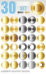 30 Coins set
