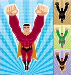Fotobehang Superheroes Superhero Flying