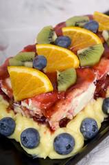 Photo sur Aluminium Fruits fruist cake