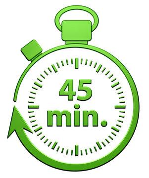 45 Minutes Chrono