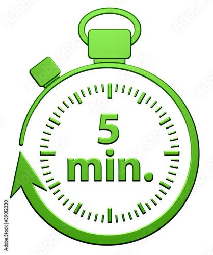 5 minutes chrono photo libre de droits sur la banque d for Cocinar en 5 min