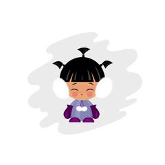 Eskimo Girl Illustration