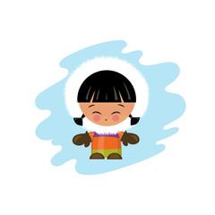 Eskimo Kind Illustration