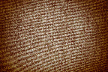 brown real textile texture, vignette background insert text