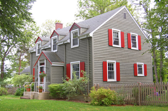 country american house