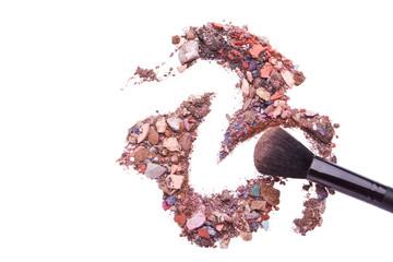 crushed eyeshadows