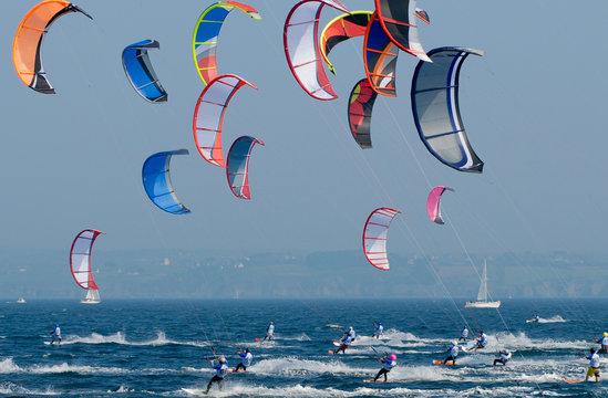 kitesurf competition sport