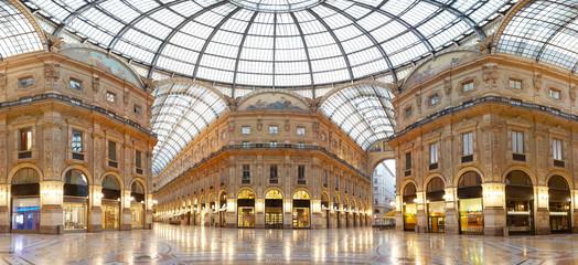 Autocollant pour porte Milan Milan, Vittorio Emanuele II gallery, Italy