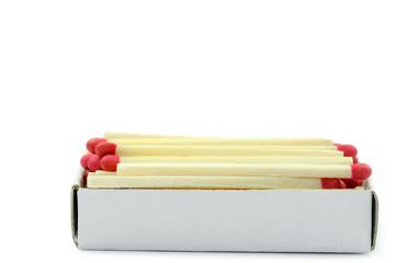 Schachtel mit Zündhölzern