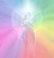Angel of Divine Light, soft blur