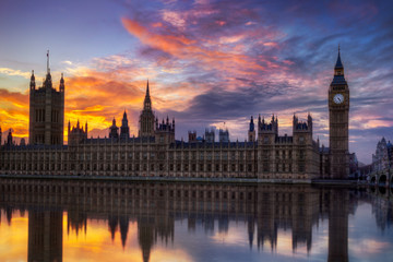 Wall Mural - Big Ben Londres Angleterre