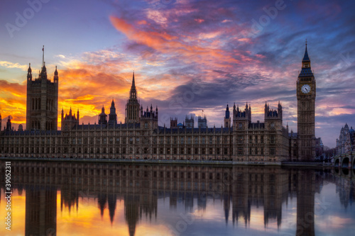 Wall mural Big Ben Londres Angleterre